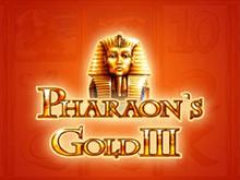 Игровой автомат Pharaohs Gold III на деньги в клубе Вулкан